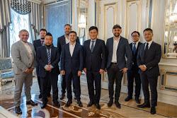 Встреча Президента Украины и основателя японской компании Rakuten